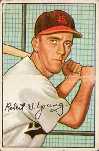 1952 Bowman #193 Bobby Young RC