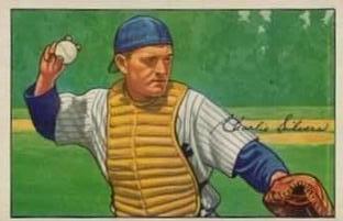1952 Bowman #197 Charlie Silvera RC