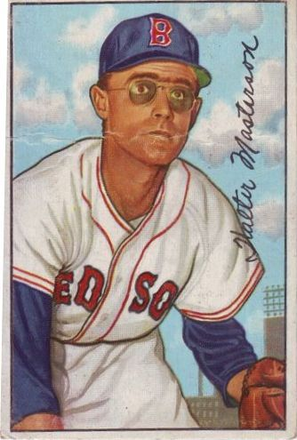 1952 Bowman #205 Walt Masterson