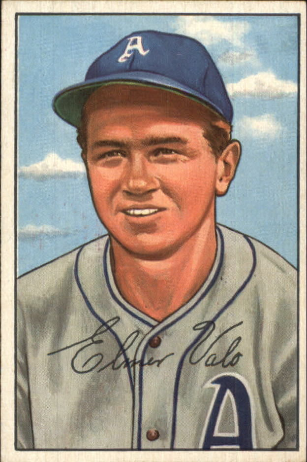 1952 Bowman #206 Elmer Valo
