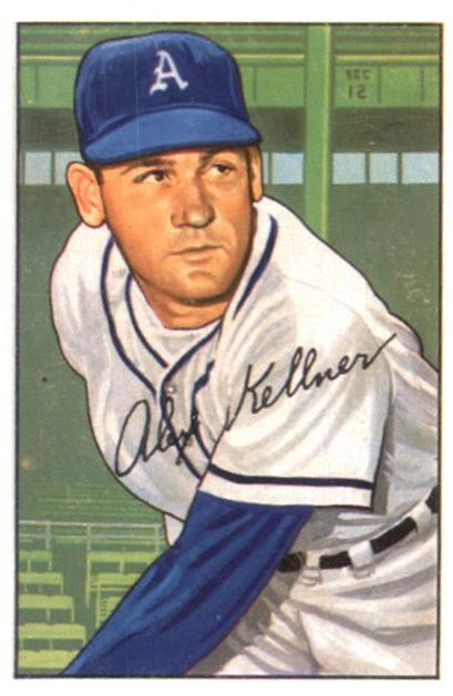 1952 Bowman #226 Alex Kellner