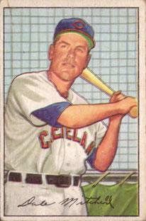 1952 Bowman #239 Dale Mitchell