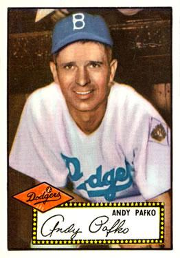 1952 Topps #1A Andy Pafko Black