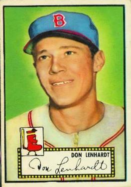 1952 Topps #4 Don Lenhardt