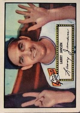 1952 Topps #5 Larry Jansen