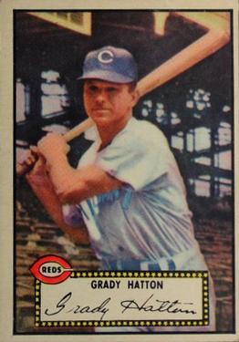 1952 Topps #6 Grady Hatton