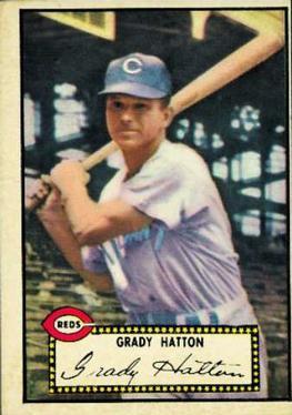 1952 Topps #6A Grady Hatton Black