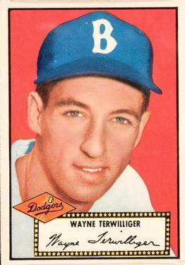 1952 Topps #7A Wayne Terwilliger Black