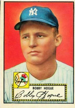 1952 Topps #9 Robert Hogue RC