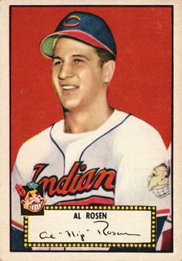 1952 Topps #10 Al Rosen