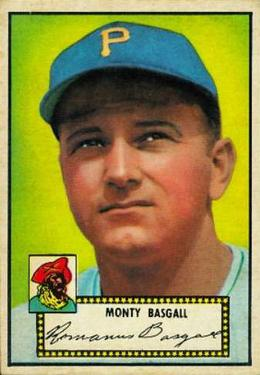 1952 Topps #12 Monty Basgall RC