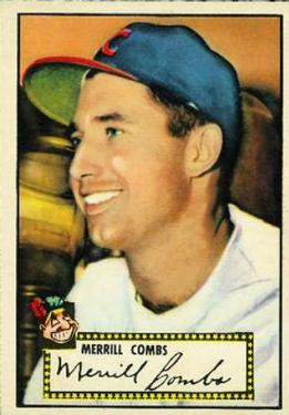 1952 Topps #18 Merrill Combs RC