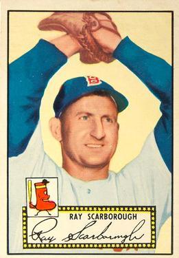 1952 Topps #43 Ray Scarborough