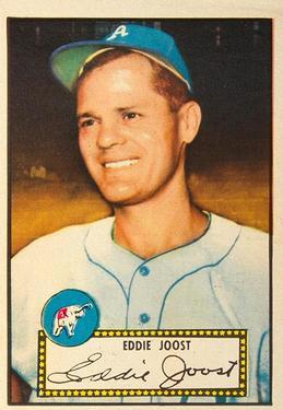1952 Topps #45 Eddie Joost