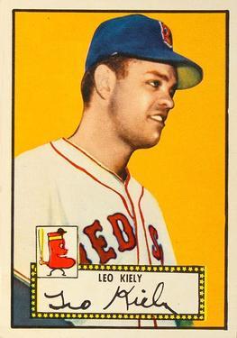 1952 Topps #54A Leo Kiely Black RC