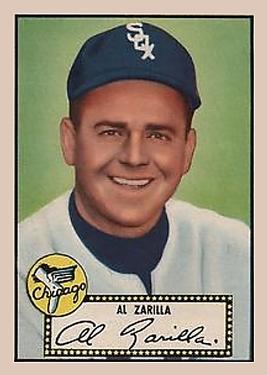 1952 Topps #70 Al Zarilla