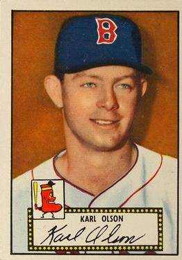 1952 Topps #72 Karl Olson RC