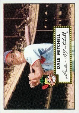 1952 Topps #92 Dale Mitchell