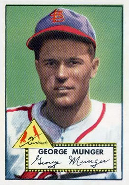1952 Topps #115 George Munger