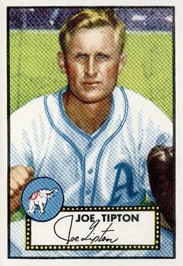 1952 Topps #134 Joe Tipton