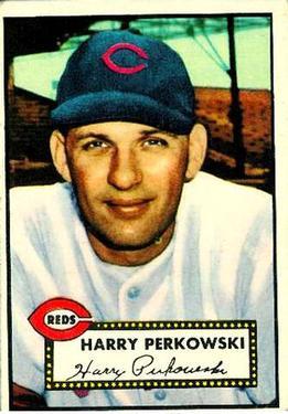 1952 Topps #142 Harry Perkowski RC