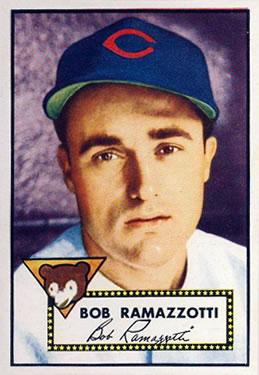 1952 Topps #184 Bob Ramazzotti