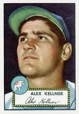 1952 Topps #201 Alex Kellner
