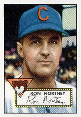 1952 Topps #204 Ron Northey