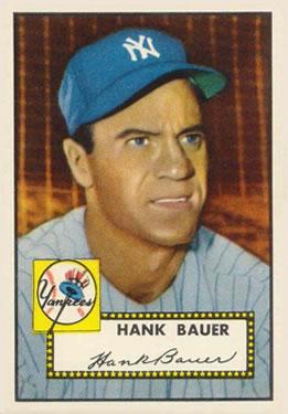 1952 Topps #215 Hank Bauer