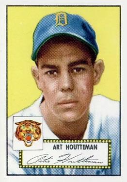 1952 Topps #238 Art Houtteman