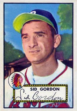 1952 Topps #267 Sid Gordon