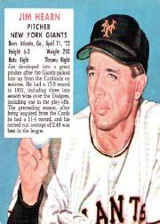 1952 Red Man #NL8 Jim Hearn