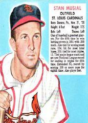 1952 Red Man #NL16 Stan Musial