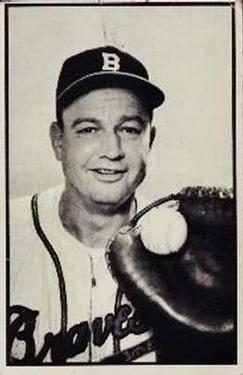 1953 Bowman Black and White #30 Walker Cooper