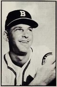 1953 Bowman Black and White #38 Dave Cole