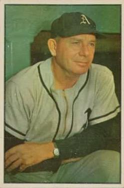 1953 Bowman Color #31 Jimmy Dykes MG