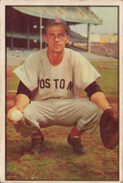 1953 Bowman Color #41 Sammy White