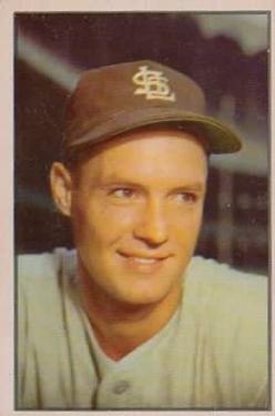 1953 Bowman Color #56 Bob Cain