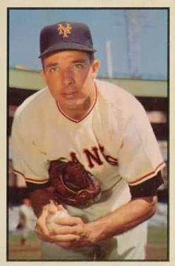 1953 Bowman Color #76 Jim Hearn