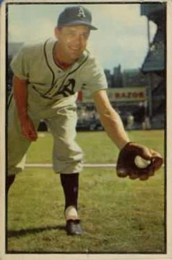 1953 Bowman Color #105 Eddie Joost
