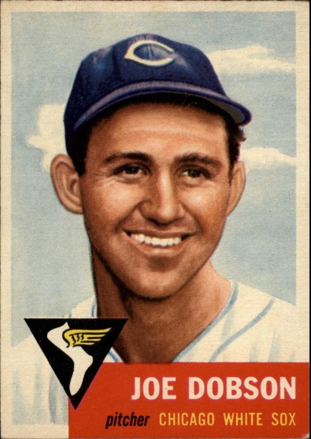 1953 Topps #5 Joe Dobson