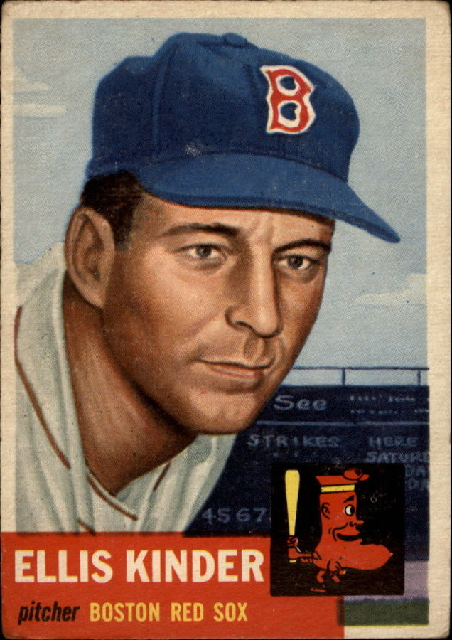 1953 Topps #44 Ellis Kinder SP