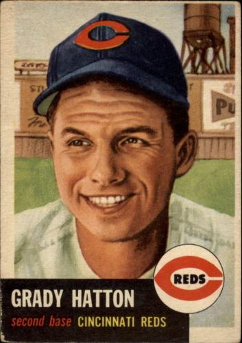 1953 Topps #45 Grady Hatton DP