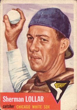 1953 Topps #53 Sherm Lollar DP