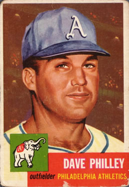 1953 Topps #64 Dave Philley