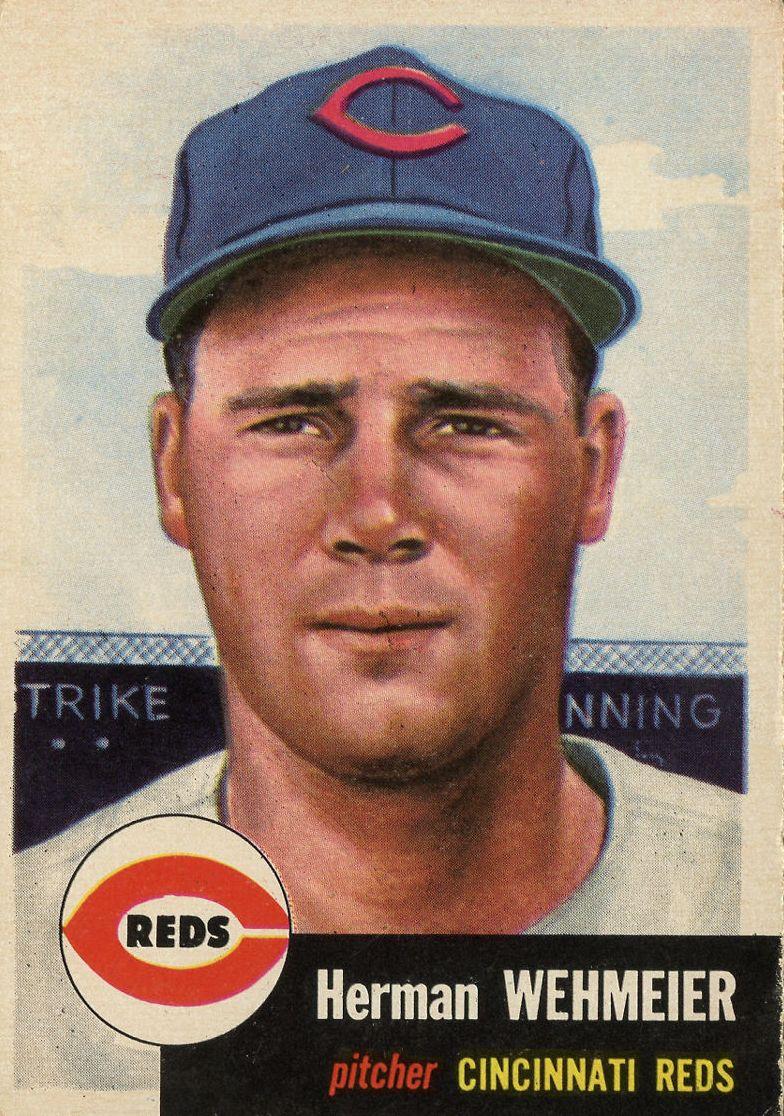 1953 Topps #110 Herman Wehmeier DP