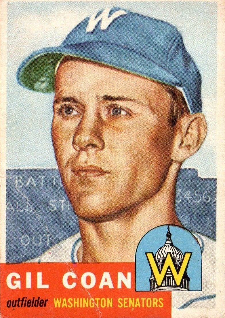 1953 Topps #133 Gil Coan