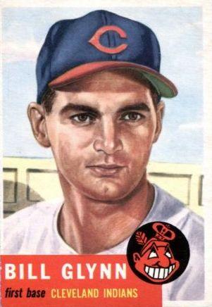 1953 Topps #171 Bill Glynn RC