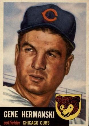1953 Topps #179 Gene Hermanski
