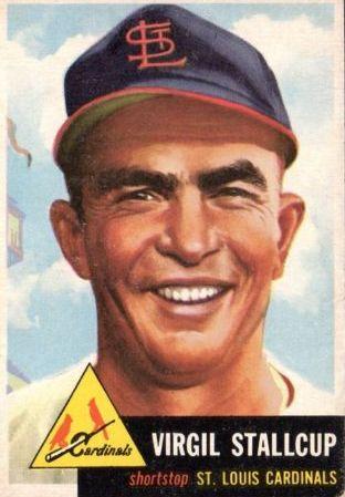 1953 Topps #180 Virgil Stallcup